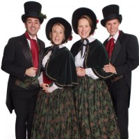 A Little Dickens - Christmas Carolers in Santa Ana, California