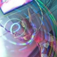 A Love Dance Expressions - Hoop Dancer in ,
