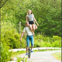 A Unicycle Built for Two - Circus & Acrobatic in Chilliwack, British Columbia