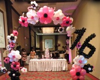 Above the Rest Balloon & Event Designs - Princess Party in Knoxville, Tennessee
