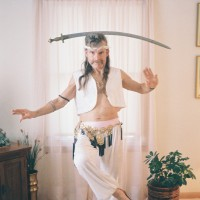 Achilles (male belly dancer) - Pony Party in Racine, Wisconsin