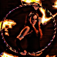 "Aenya ""Little Fire"" - Fire Dancer in Memphis, Tennessee"