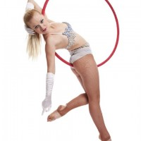 Aerial Hoop - Sports Exhibition in Oceanside, California