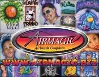 Air Magic Airbrushing - Temporary Tattoo Artist in Sacramento, California