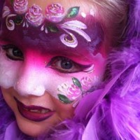 The Boston Face Painters - Princess Party in Dedham, Massachusetts