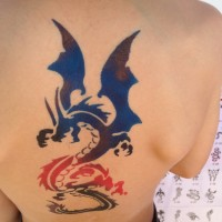 Airbrush Tattoo - Airbrush Artist in Garland, Texas