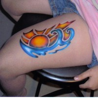 Aire Tatts - Temporary Tattoo Artist in Findlay, Ohio