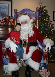 Santa Claus Albert - Santa Visits - AJ Entertainment