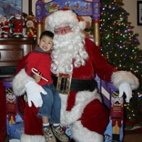 Santa Visits-Albert Joseph Entertainment - Costumed Character in Stockton, California
