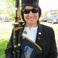 Alexandria Davis - Bagpiper in Boston, Massachusetts