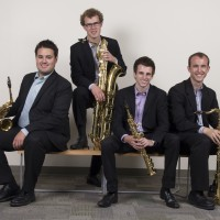 Alpha Saxophone Quartet - Classical Music in Liberal, Kansas