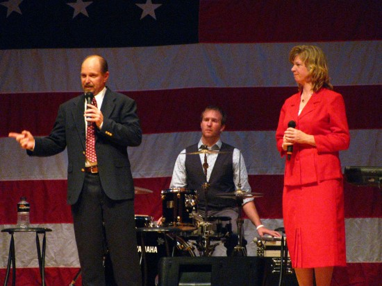 Ambassadors of Grace at the Salute to Veterans Tribute on 9/11/09