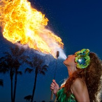 AmoraFire Productions - Fire Dancer in Brownsville, Texas