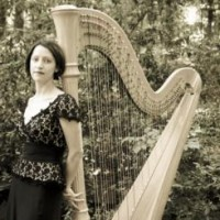 Amy Kortus, harpist - Bagpiper in Greensboro, North Carolina