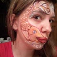 Ana-banana face-painting - Body Painter in Arlington, Virginia