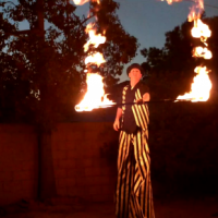 Andy's-entertaining-arts - Stilt Walker in Anaheim, California