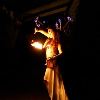 Anna Kimura - Fire Dancer in Melbourne, Florida