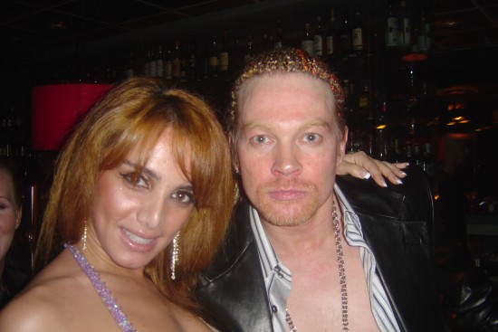 anna with axel rose