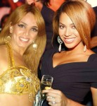 anna with Beyonce at welcome party  for ambassador of Dubai