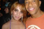 anna with russel simmons