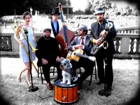 AnnaPaul and the Bearded Lady - Big Band in Longview, Washington