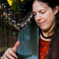 Annette Bjorling - Harpist - Acoustic Band in Gary, Indiana