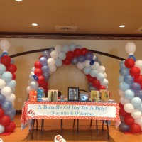 Arches and Columns - Balloon Decor in Boca Raton, Florida