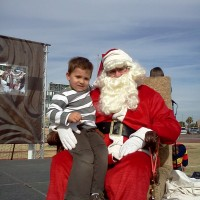 Arizona Santa - Holiday Entertainment in Chandler, Arizona