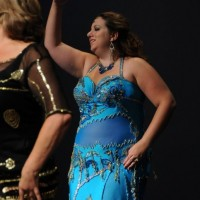 Azraa of Bluegrass Bellydance - Dance in Vincennes, Indiana