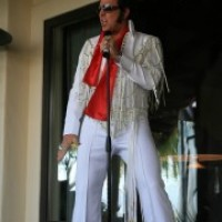 Blue Suede King - Impersonator in Gallup, New Mexico