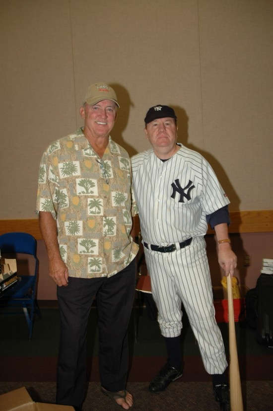 with Yankee great, Craig Nettles