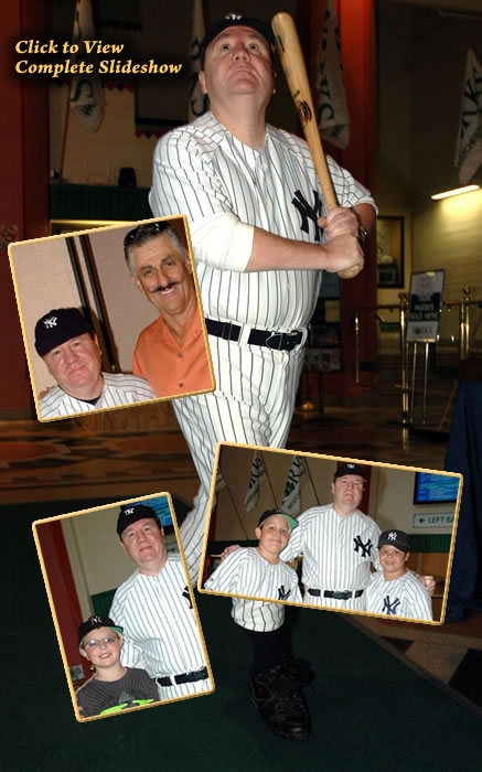 Steve Folven as Babe Ruth