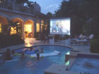 Backyard Projections - Inflatable Movie Screen Rentals in San Antonio, Texas