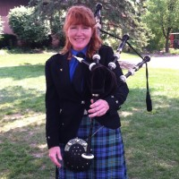 Bagpipe Mary - Celtic Music in La Porte, Indiana