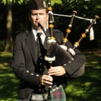 Bagpiper Stephen Holter - Celtic Music in Flint, Michigan