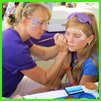 Baja Face Painting & Body Art - Pony Party in Falmouth, Massachusetts