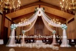 Fabric Canopy Dance Floor Design