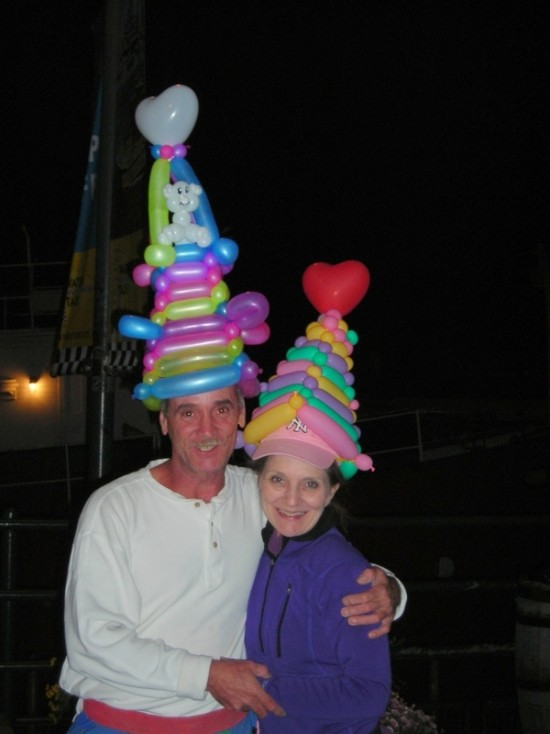 Fun Balloon Hats