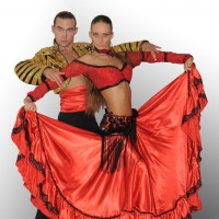 ballroom dance duo Ex-libris - Dance in Van Buren, Arkansas