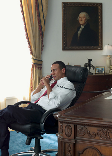Oval Office profile (GW pic)