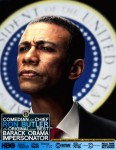 Obama Impersonator Ron Butler Press Photo Serious 06