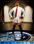 Obama Impersonator Ron Butler Press Photo Funny 01