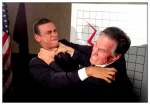 Obama Impersonator Ron Butler Fighting With Mitt Romney Impersonator