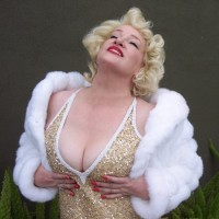 Barbara Ackles as Marilyn Monroe - Marilyn Monroe Impersonator in Brownsville, Texas