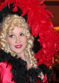 Barbara Bea as Mae West Impersonator