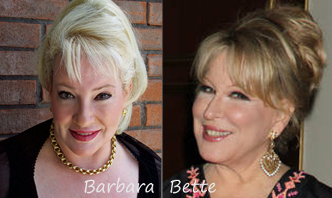 Barbara Bea and Bette Midler