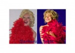Bette and Barbara Red Boa