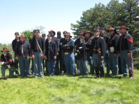 Battery D, 1st Michigan Light Artillery - Civil War Reenactment in ,