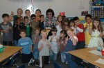 Bay Area's #1 Elvis Impersonator and Tribute Artist Rick Torres! makes a visit to School Kids during Elvis week!