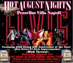 Bay Areas #1 Elvis Impersonator and Tribute Artist Rick Torres at Hot August Nights!!